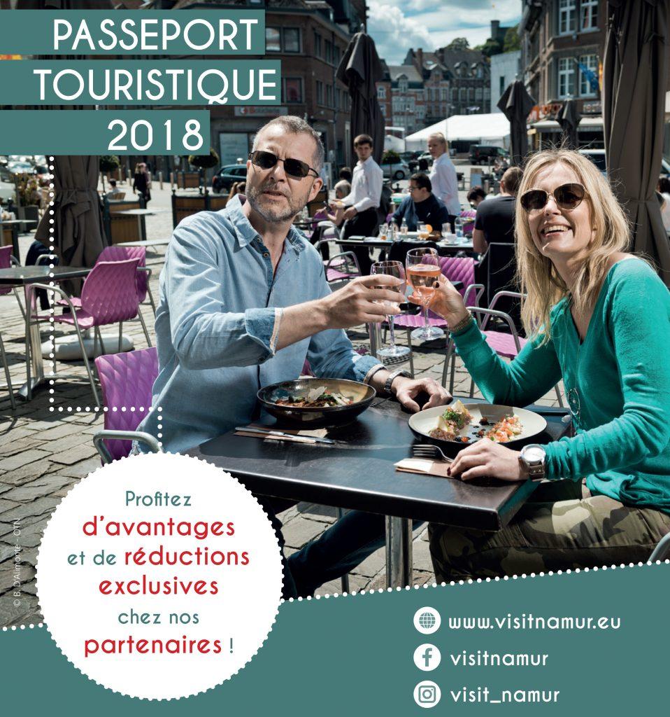 Passeport touristique 2018 visit namur office du - Office du tourisme de namur ...